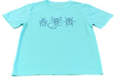 Short Sleeve Boy Bugs T-Shirt