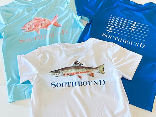 Southbound Performance Boys Tee