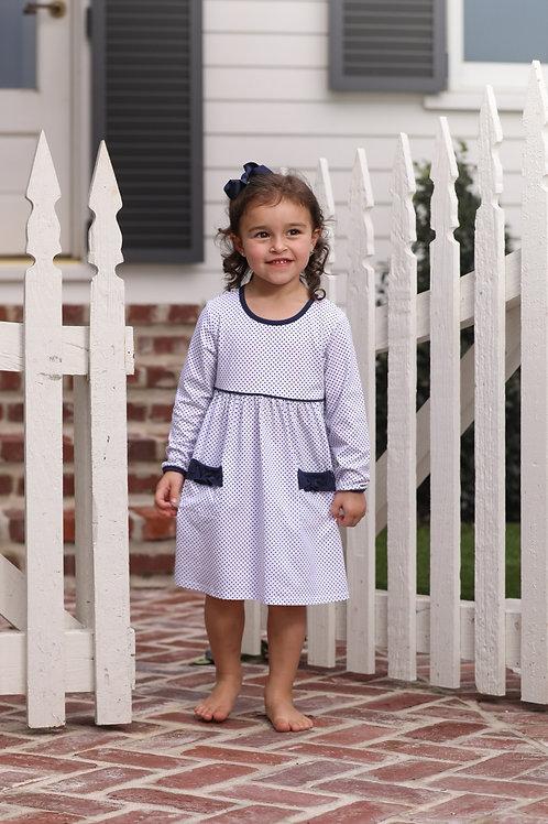 Millie Polk A Dot Pocket Dress
