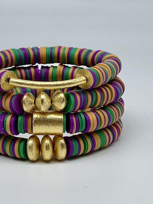 Mardi Gras Bracelets