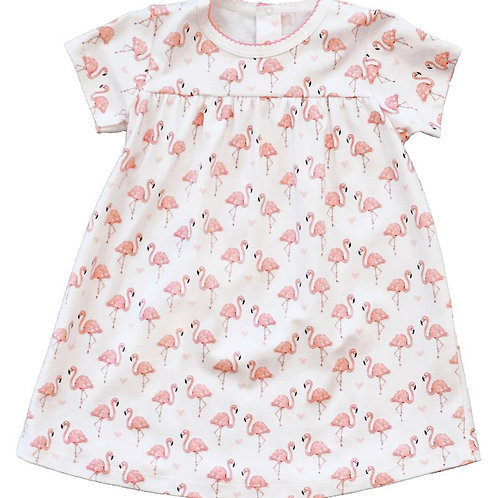 Pink Flamingo Swing Dress