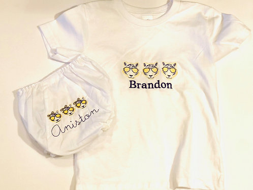 Embroidered Kids T-Shirt