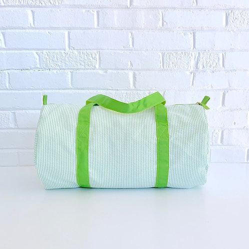 Seersucker Duffle Bags