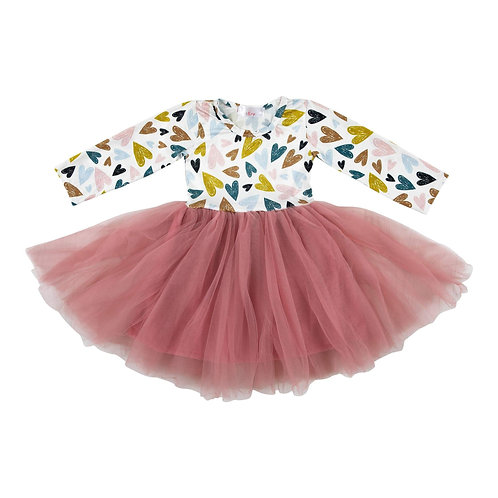 Mila and Rose I Heart You Tutu Dress