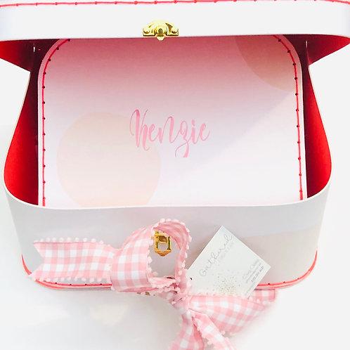 Pink Suitcase Set (set of 2)