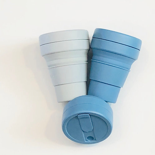 12 oz Collapsible Reusable Cup