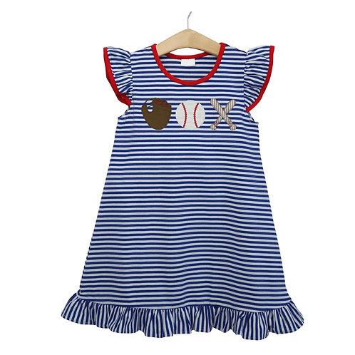 Baseball Girl Dress
