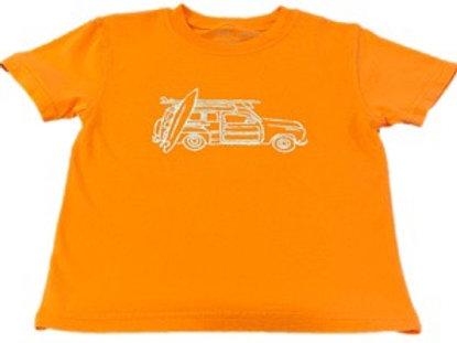 Short Sleeve Woody Wagon T-Shirt