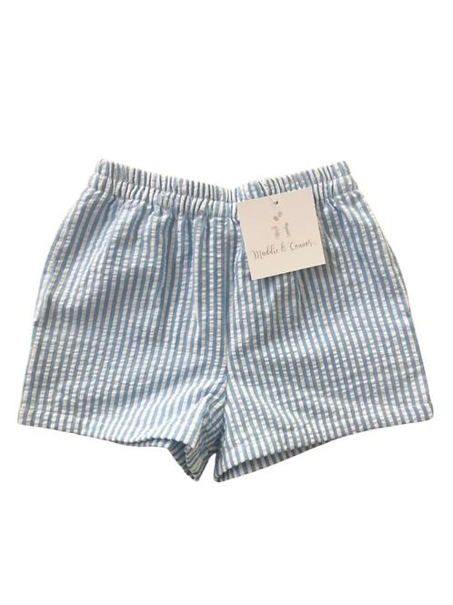 Boys Seersucker Resort Shorts