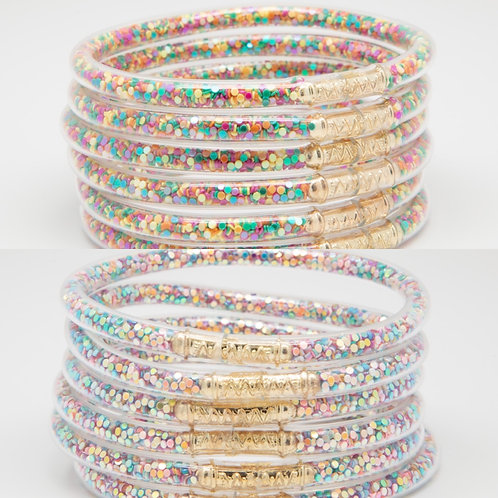 Confetti Bracelets (set of 6)