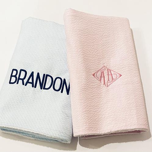 Seersucker Beach Towels