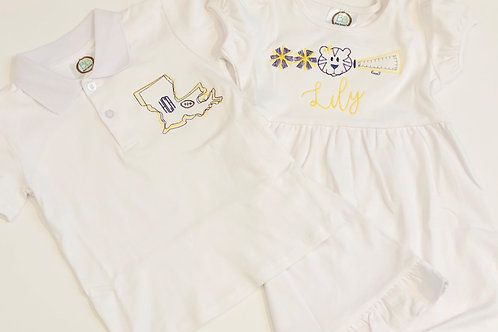 Embroidered Boys Polo