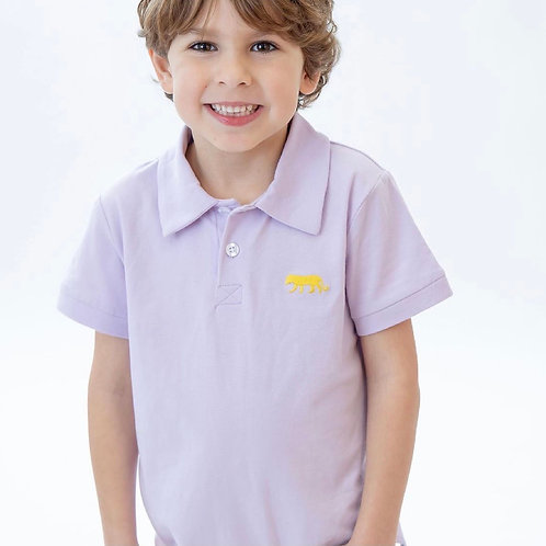 Embroidered Tiger Polo