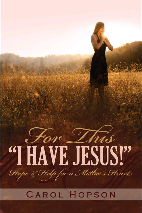 """For This """"I Have Jesus!"""""""