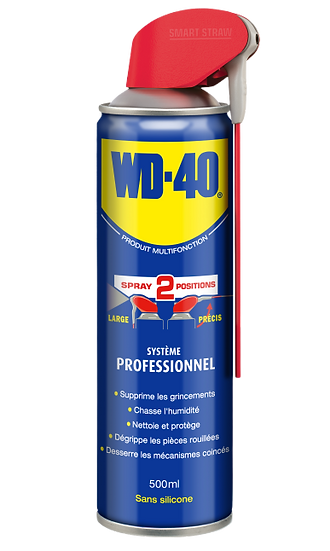 Dégrippant Multifonction Wd-40 Spray Double Position 500ml