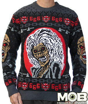 Be ready for Christmas with this Iron Maiden Sweater