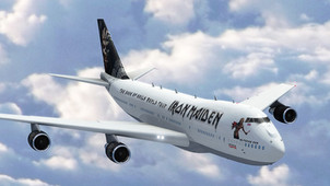 """Iron Maiden new """"Ed Force One"""" for 2016 World Tour"""