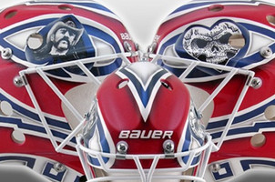 Ben Scrivens' new mask has a tribute to Lemmy on it