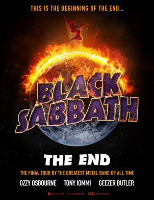 "Black Sabbath ""Farewell Tour"" 2016 dates"