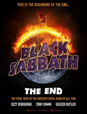 "Black Sabbath ""Farewell Tour"" 2016 dates"