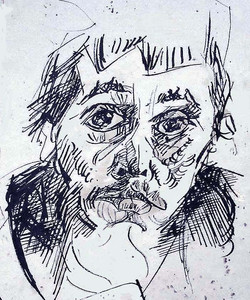 Self portrait. 1956.