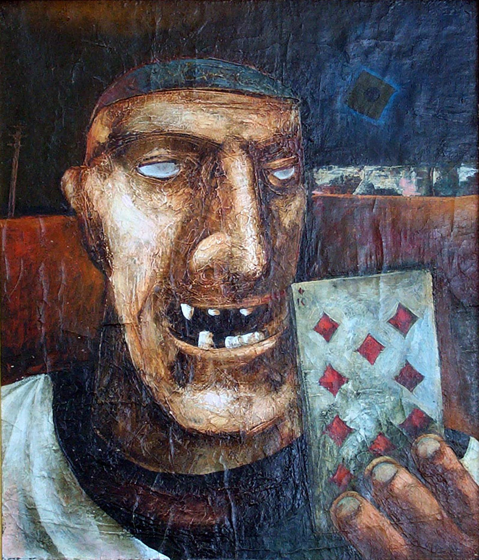 """King of spades"" 1974."