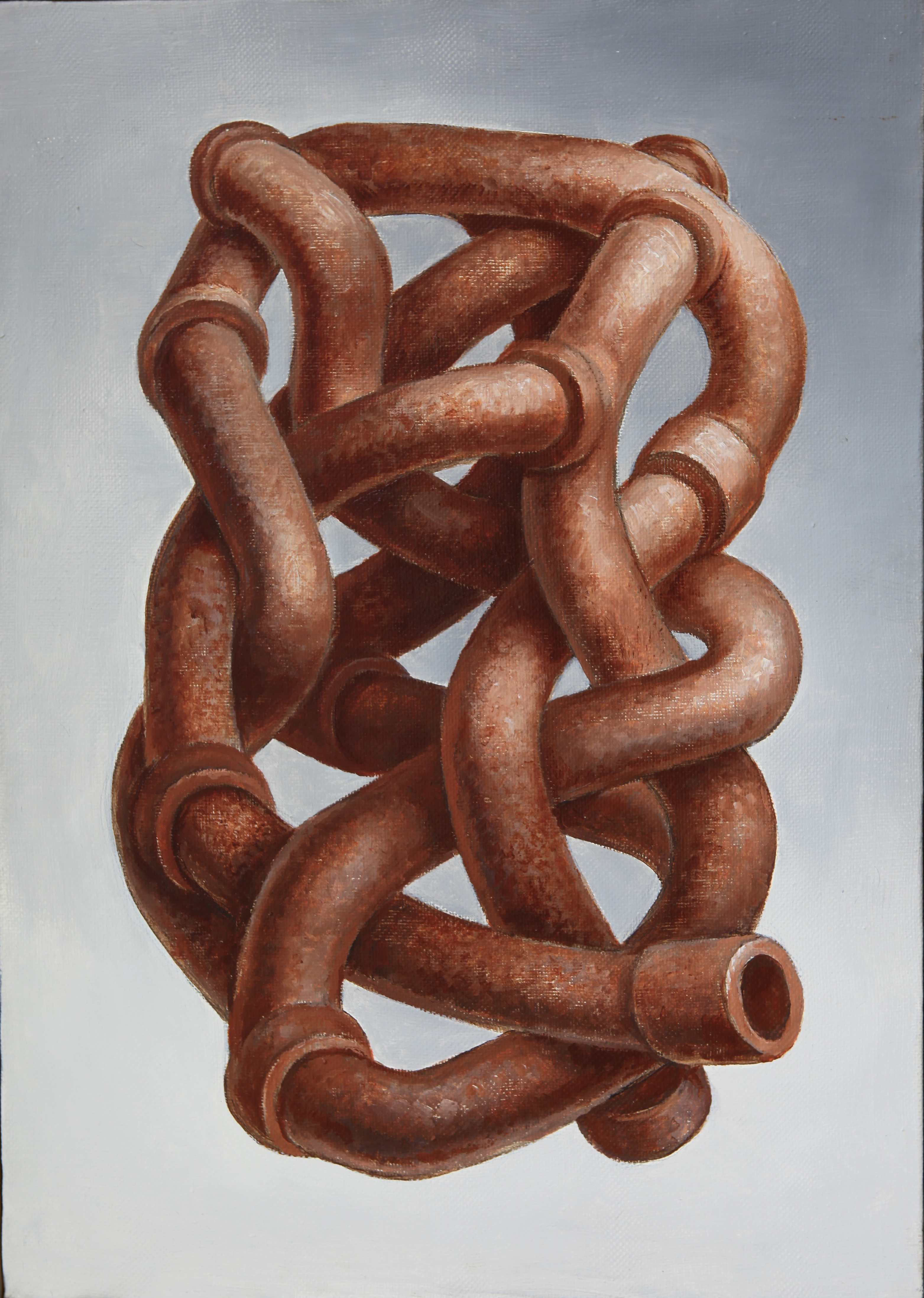 """""""The knot """" 1993."""