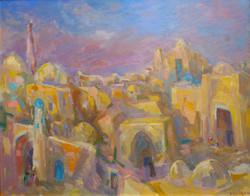 """""""Sleeping Khiva"""" 1985."""