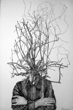 """Self portrait"" 1979."