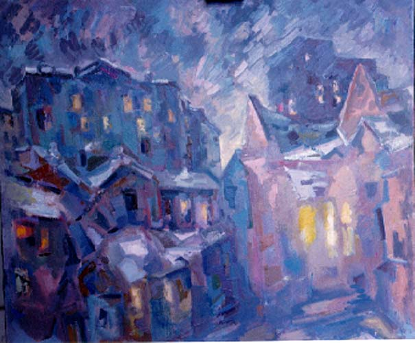 """Evening in Moscow"" 1992."