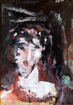 """Portrait of woman""1977-78."