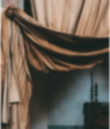 Taupe silk drapery panel.png