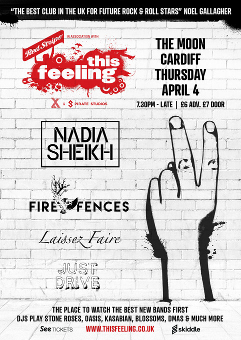 Fire Fences announce yet another This Feeling gig that promises to deliver...