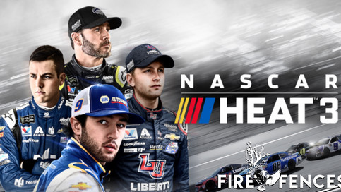 "Fire Fences' new track ""Can't Keep Up"" featured on NASCAR Heat III Soundtrack."