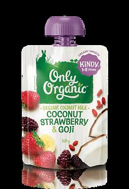 Only Organic Coconut Strawberry&Goji(6pice)