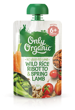 Only Organic Wild Rice Risotto&Spring Lamb(6pice)