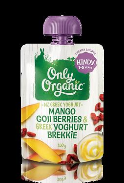 Only Organic Mango Goji Berries&Greek Yoghurt Brekkie(6pcs)