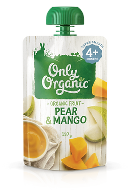 Only Organic Pear&Mango (6pice)