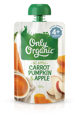 Only Organic Carrot Pumpkin&Apple(6pice)