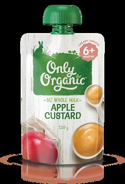 Only Organic Apple Custard(6pice)