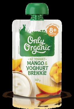 Only Organic Mango yoghurt Brekkie(6pice)