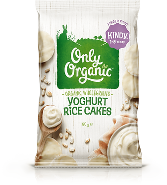 Only Organic Yoghurt Rice Cakes(5pack)