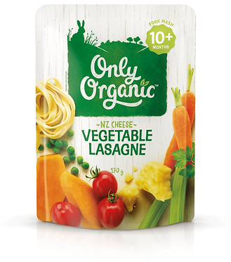 Only Organic Vegetable Lasagne Pouch(6pice)