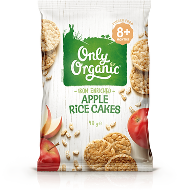 Only Organic Apple Rice Cakes(6pice)