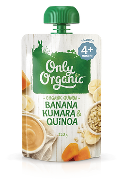 Only Organic Banana Kumara Quinoa(6pice)