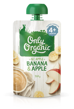 Only Organic Banana&Apple(6pice)