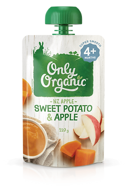 Only Organic Sweet Potato&Apple (6pice)