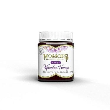 Mossop's 慕氏UMF5+麥蘆卡蜂蜜250克 UMF®5+ Manuka Honey 250g