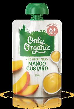 Only Organic Mango Custard(6pice)