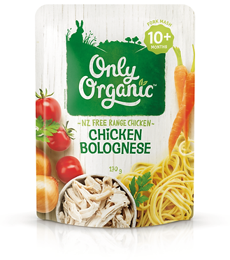 Only Organic Chicken Bolognese Pouch(6pice)